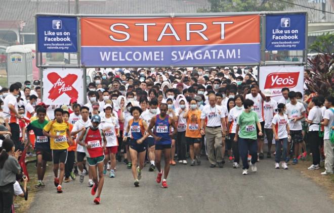 Nalanda e-Run 2017.