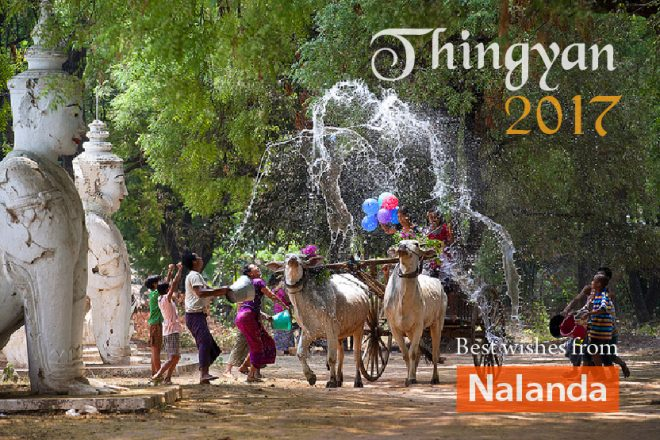 Thingyan marks the beginning of a new year for the people of Myanmar.