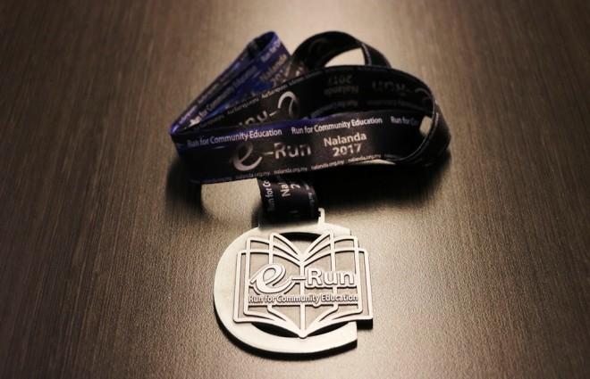 e-Run medal.