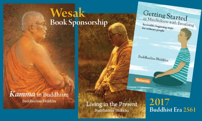 Sponsor the printing of books this Wesak Day.