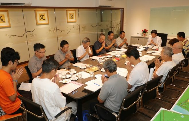 The 22nd meeting of Wisdom Park Development Committee.