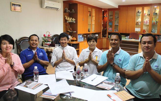 Bro. Tan had a productive discussion with Dhamma teachers at Vihāra Dhammamulia.
