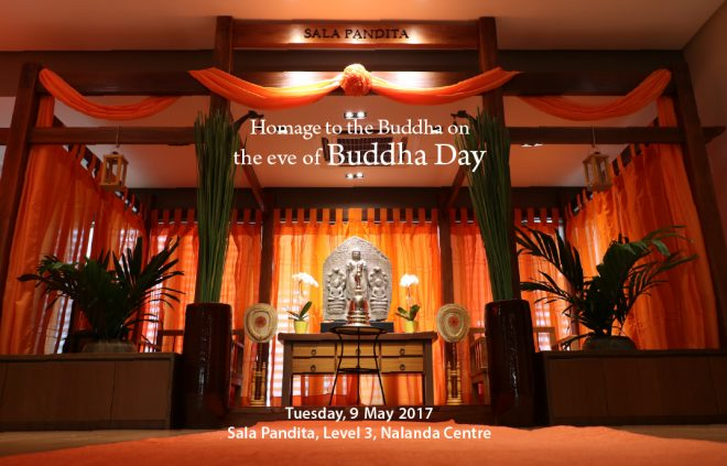 Programmes are lined up throughout today to welcome the dawn of 'Buddha Day'.