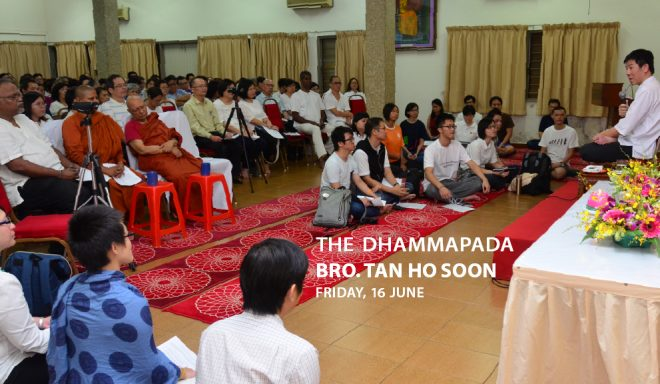 Don't miss this opportunity to learn about illuminating verses found in the 'Dhammapada'.