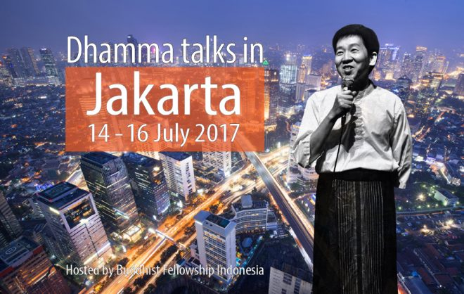 We welcome everyone to participate in Bro. Tan's Dhamma talks in Jakarta.