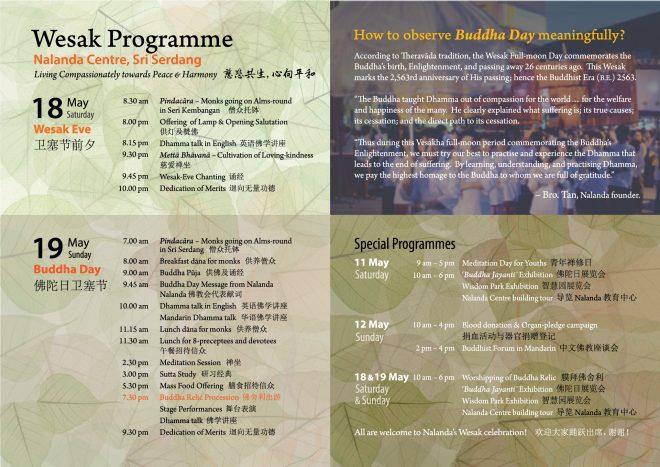 Buddha Day' Observance – Nalanda Buddhist Society